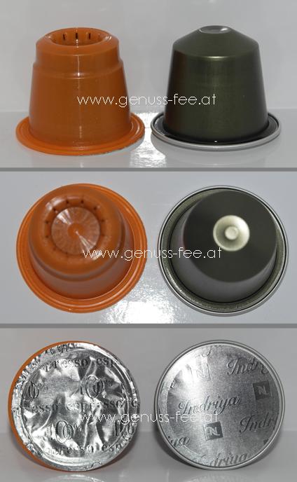 nespresso kaffeekapsel alternative 100 espresso genuss fee. Black Bedroom Furniture Sets. Home Design Ideas
