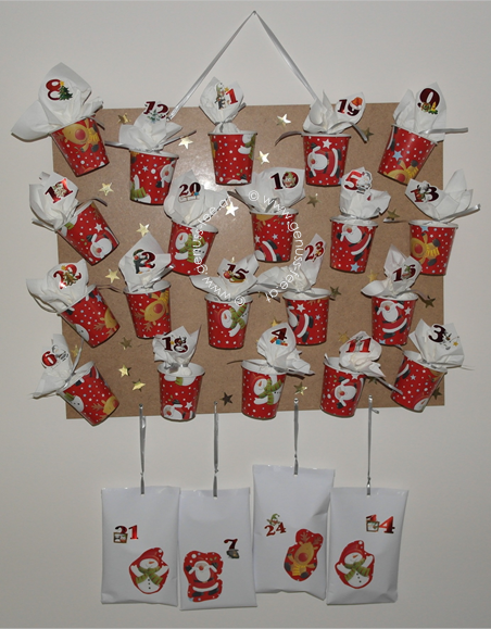 DIY Adventskalender 6