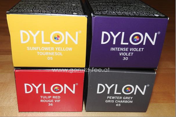 Polyester Färben Waschmaschine review&diy] textilien einfach selber färben mit dylon | genuss-fee