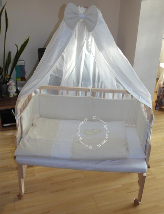 review fabimax beistellbett pro beistellbett und stubenwagen in einem genuss fee. Black Bedroom Furniture Sets. Home Design Ideas