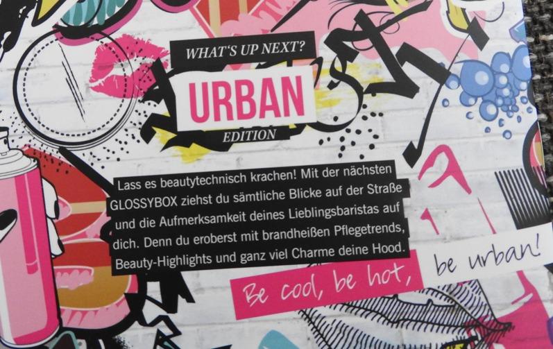 Glossybox Österreich Mai 2016 1