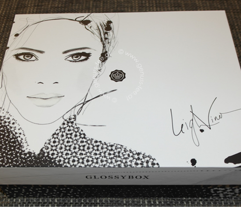 GLOSSYBOX SEPTEMBER 2015 - BLACK & WHITE EDITION