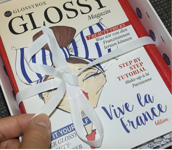 GLOSSYBOX JULI 2015 - VIVE LA FRANCE EDITION