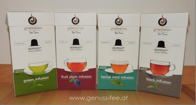 Gourmesso Teekapseln für Nespresso 01