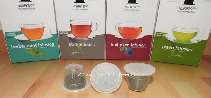 review gourmesso teekapseln f r nespresso kaffeemaschinen genuss fee. Black Bedroom Furniture Sets. Home Design Ideas