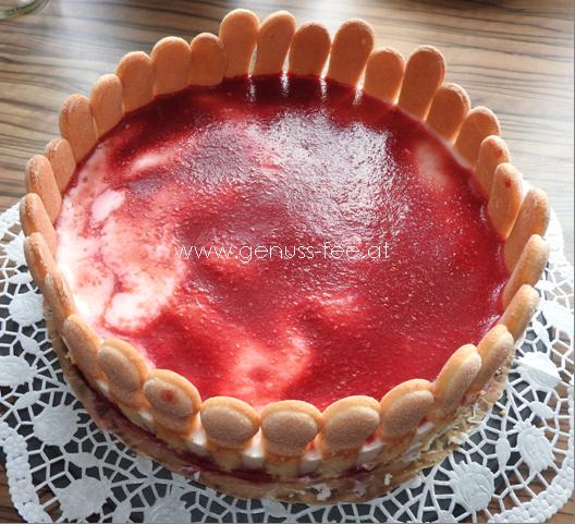 Rezept Himbeer Buttermilch Torte Genuss Fee