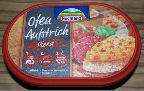 review hochland ofen aufstrich pizza genuss fee. Black Bedroom Furniture Sets. Home Design Ideas