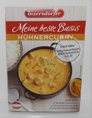 Inzersdorfer Meine Beste Basis Hühnercurry 5