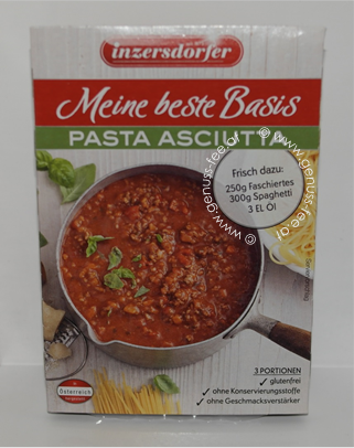 Inzersdorfer Meine Beste Basis Pasta Asciutta  4