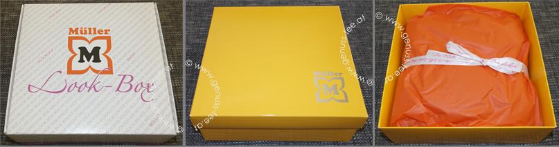 unboxing m ller look box fr hlingserwachen genuss fee. Black Bedroom Furniture Sets. Home Design Ideas