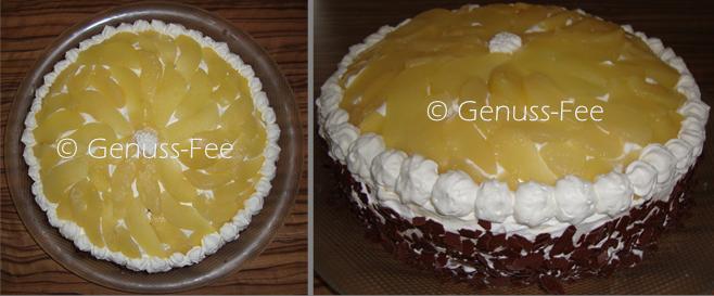 Birnen-Nuss-Torte