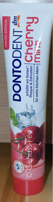 DONTODENT Cherry Mint Zahncreme