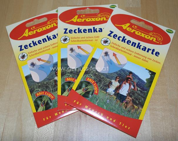 Aeroxon Zeckenkarte