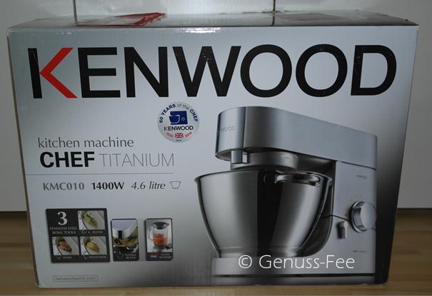 kenwood titanium chef kmc010 genuss fee. Black Bedroom Furniture Sets. Home Design Ideas