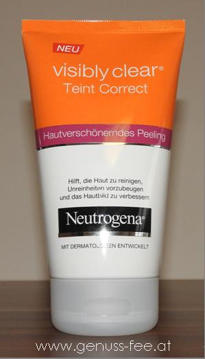 Neutrogena visibly clear Teint Correct hautverschönerndes Peeling 1