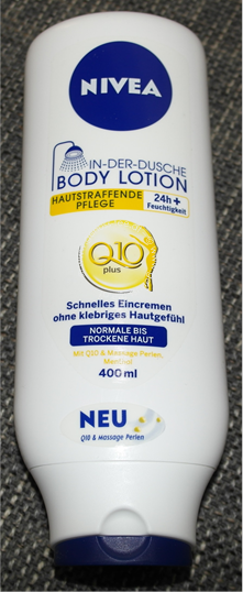Nivea In-Der-Dusche Q10 Hautstraffende Body Lotion 2