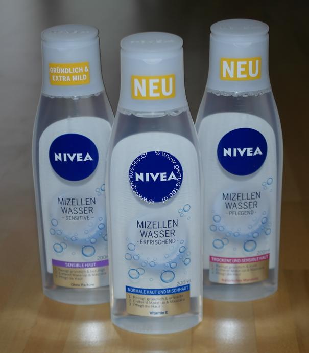 Nivea Mizellen-Wasser 4