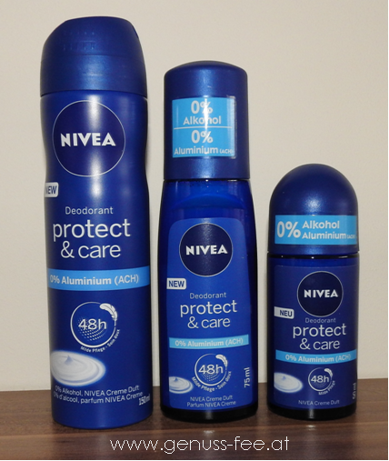 Nivea Protect & Care Deos 1