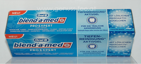 Oral-B blend-a-med Pro-Expert Tiefenreinigung Aktivgel 1