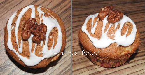 Wallnuss-Bananen-Muffins