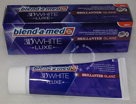 blend-a-med 3D White LUXE BRILLIANTER GLANZ 1