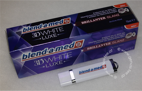 blend-a-med 3D White LUXE BRILLIANTER GLANZ 3