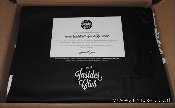 nu3 Insider Club Box 1